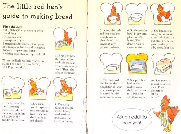 little red hed bread recipe