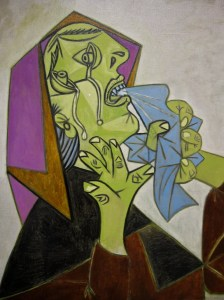 Crying Woman by Picasso