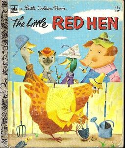 The Little Red Hen - Little Golden Book