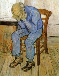At Eternity's Gate by van Gogh