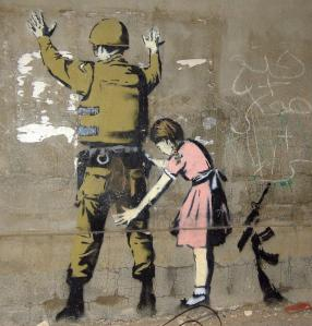 Bethlehem_Wall_Graffiti_soldier-girl