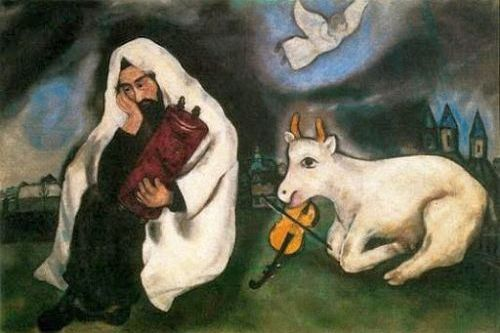 Solitude, Marc Chagall, 1933