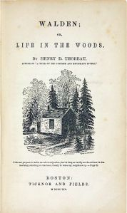 Walden first edition