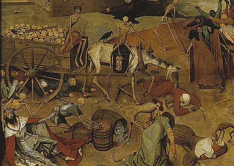The triumph of death, Brueghel, 1562 - section