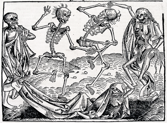 Danse Macabre, Michael Wolgemut, 1493