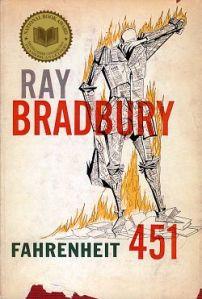Fahrenheit 451 first cover